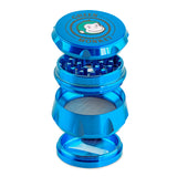 Green Monkey Baboon Crown Grinder - Blue - 50MM