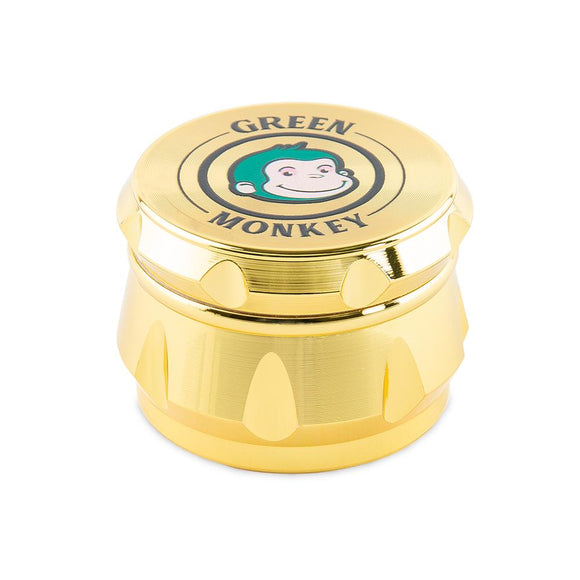Green Monkey Grinder - Baboon Crown - Gold - 50mm