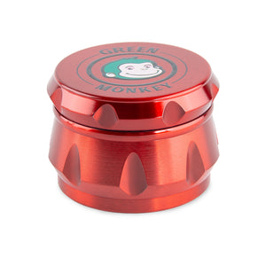 Green Monkey Baboon Crown Grinder - Red - 50MM