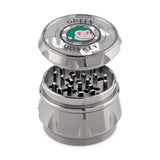 Green Monkey Baboon Crown Grinder - Silver - 63MM