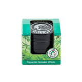 Green Monkey Capuchin Grinder - Black - 40MM