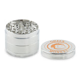 Green Monkey Capuchin Grinder - Silver - 55MM