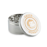 Green Monkey Grinder - Capuchin - 75mm - Silver