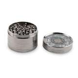 Green Monkey Grinder Lightning Teeth - Gunmetal - 63MM