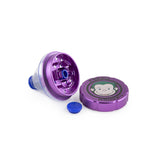 Green Monkey Grinder W/ Cone - Purple - 50MM