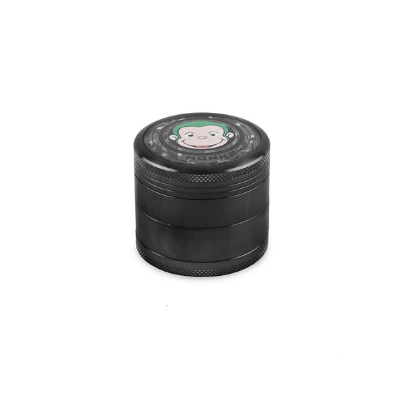 Green Monkey Grinder W/ Cone Attachment - Black - 55MM