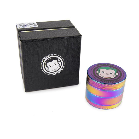 Green Monkey Rainbow Grinder - 55MM