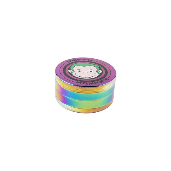 Green Monkey Rainbow Grinder - 100MM