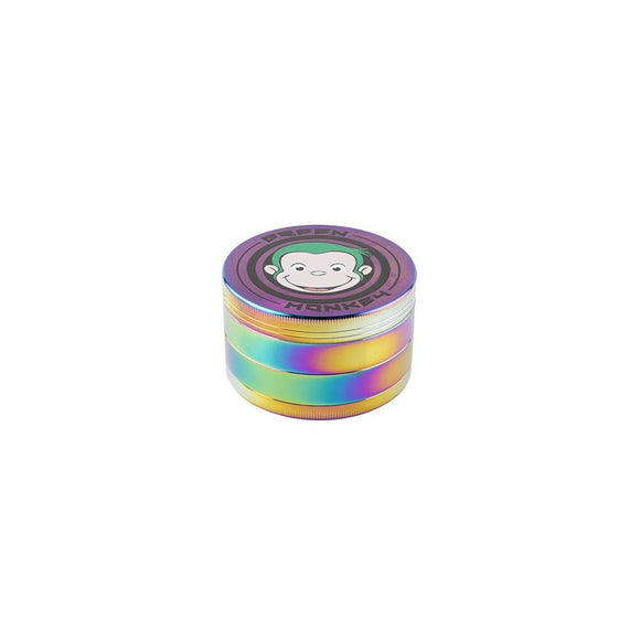 Green Monkey Rainbow Grinder - 75MM