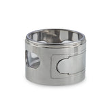 Green Monkey Mandrill Grinder - Silver - 60MM