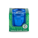 Green Monkey Tamarin Grinder - Blue - 50MM