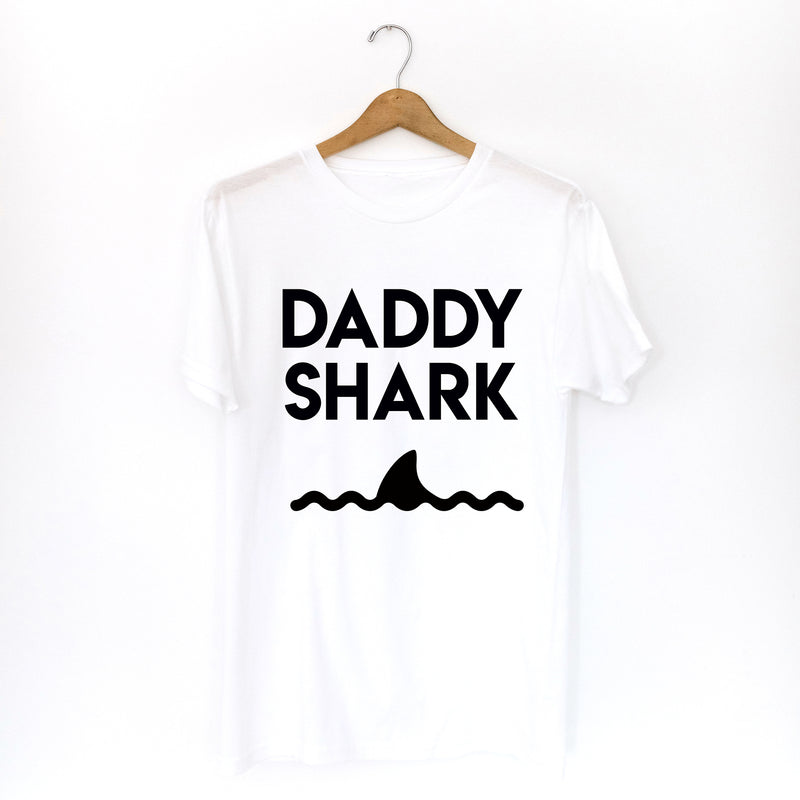 TSHIRT: DADDY SHARK (Mommy and Baby Shark sold separately)