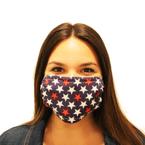 FACE MASK: PATRIOTIC STARS