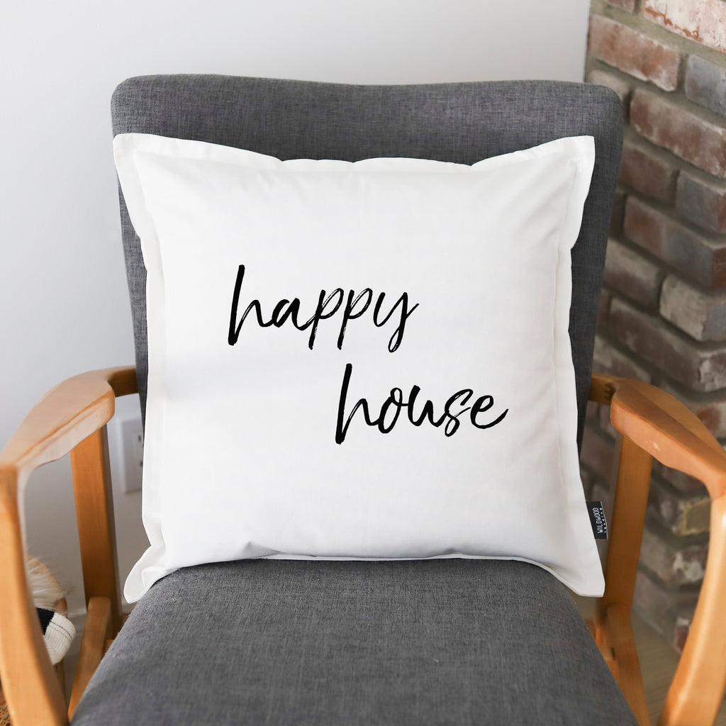 PILLOW: HAPPY HOUSE