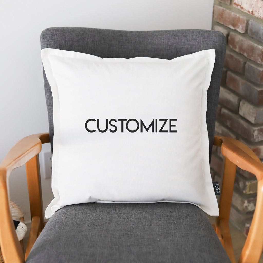 "CUSTOM PILLOW: ANY PILLOW 20""x20"""