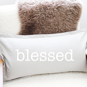PILLOW: BLESSED