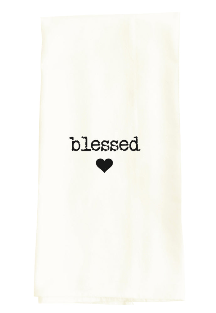 TEA TOWEL: BLESSED