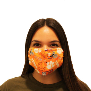 FACE MASK: CLEMSON TIGERS