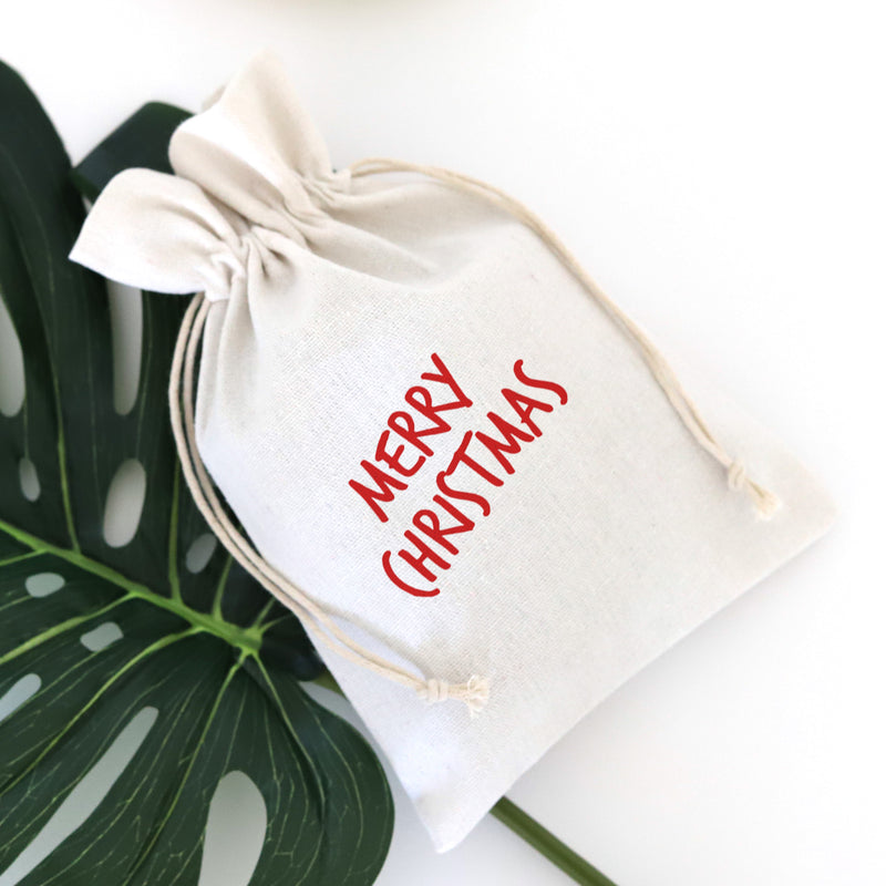 GIFT BAG: MERRY CHRISTMAS (6 pack)