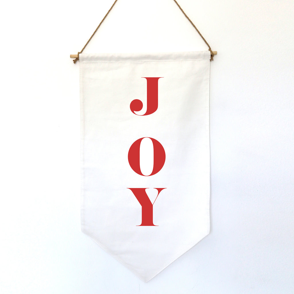HANGING BANNER (small): JOY