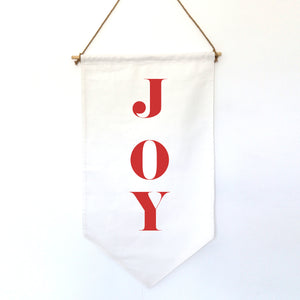 HANGING BANNER (Christmas, small): JOY