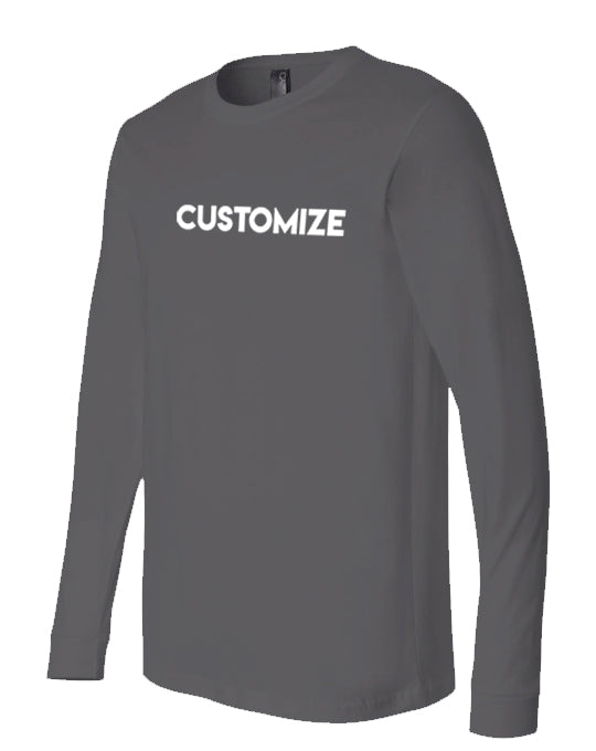 -CUSTOM: TSHIRT LONG SLEEVE
