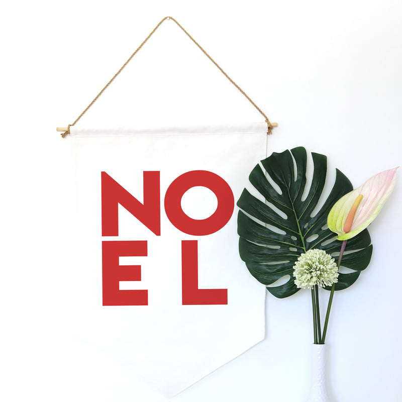 HANGING BANNER (Christmas, large): NOEL