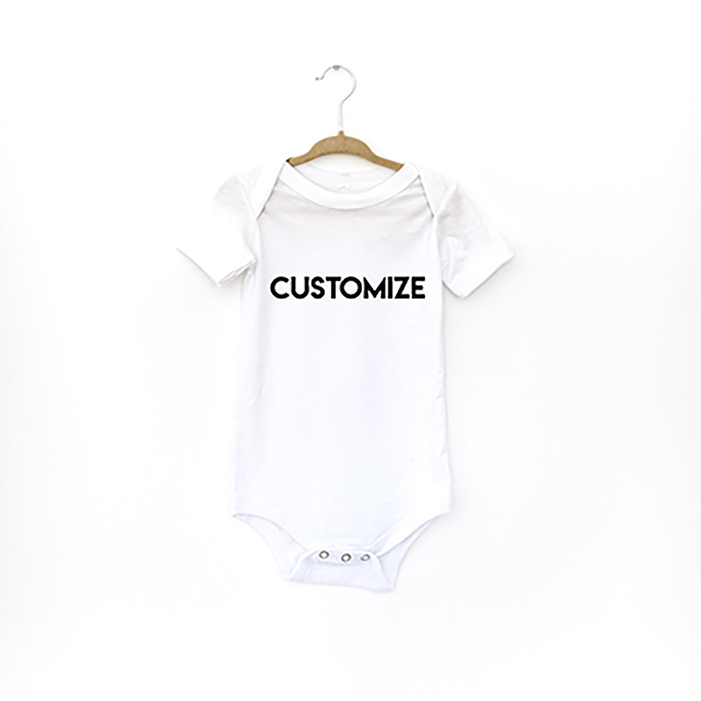 CUSTOMIZE: ONESIE