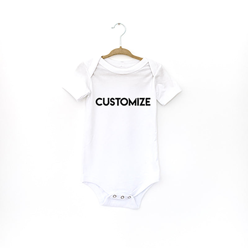 -CUSTOMIZE BABY BODYSUIT