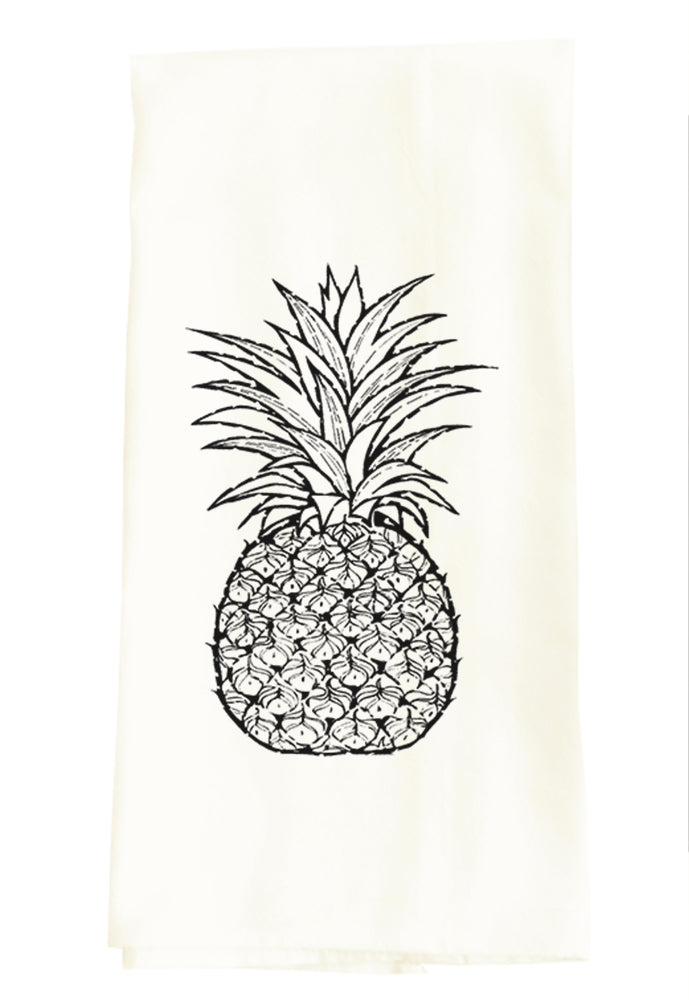 TEA TOWEL: PINEAPPLE