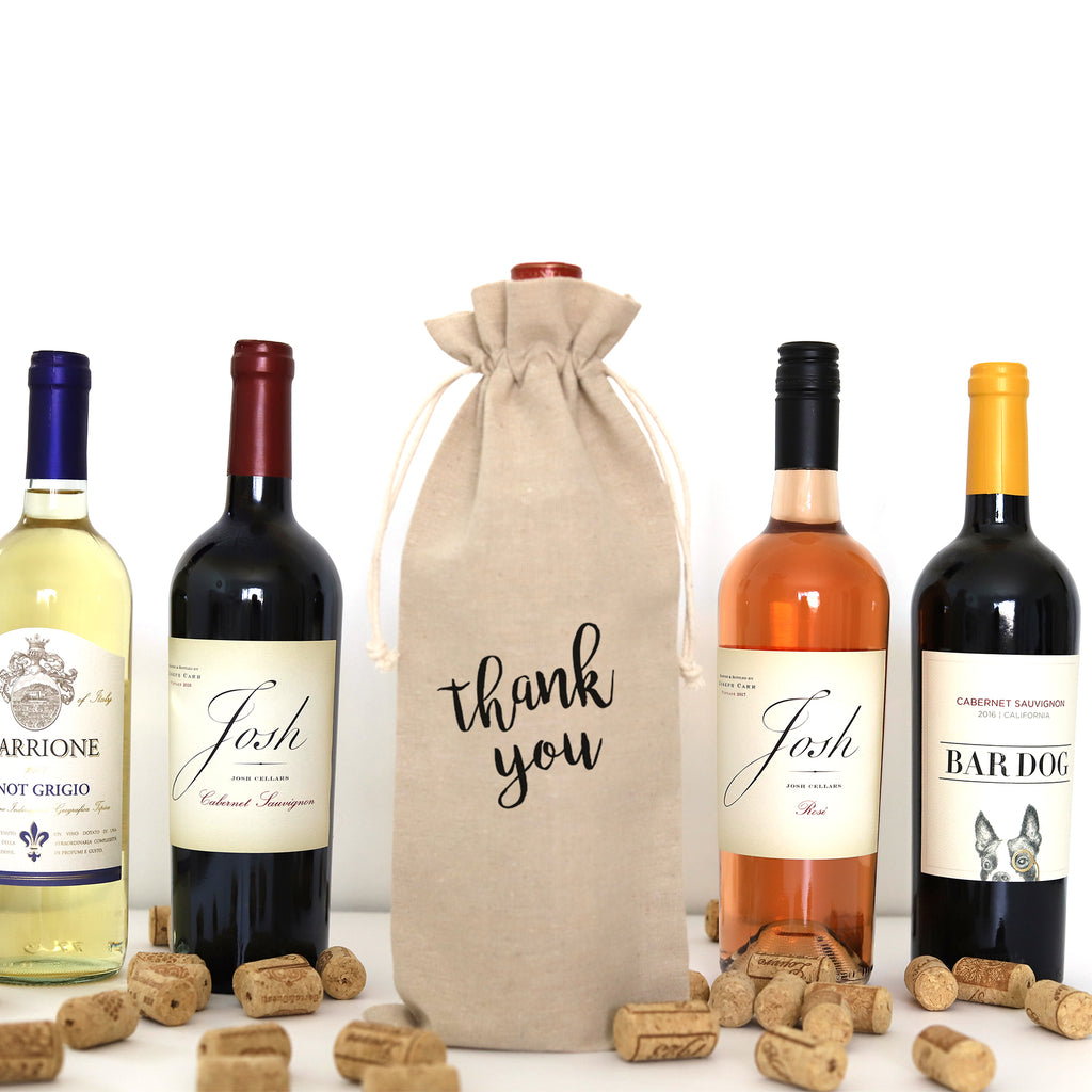 WINE BAG: THANK YOU