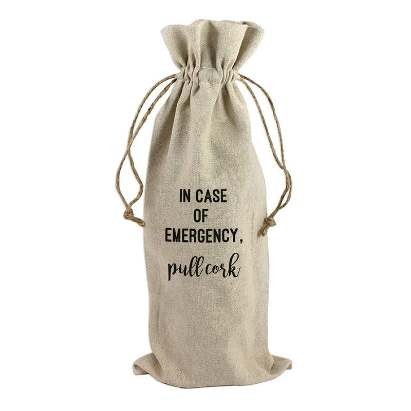 WINE BAG: IN CASE OF EMERGENCY