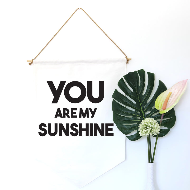 HANGING BANNER (large): YOU ARE MY SUNSHINE