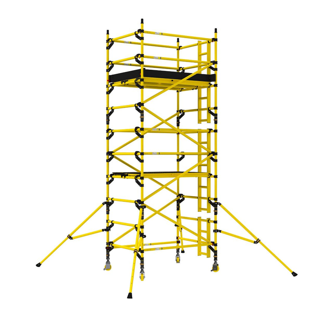 BoSS Zone 1 GRP Tower 1.45m x 1.8m - 11.7m working height (31654500)