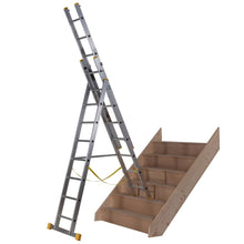 Load image into Gallery viewer, Youngman Combi 100 Ladder 2.39m (34138118)