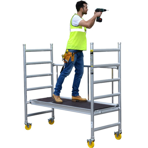 Youngman MiniMax Scaffold Tower Base Pack Unit - Working Height 2.6m (37051800)