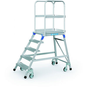 Zarges Mobile Access 5 Step Platform - 3.2m Working Height (41973)