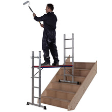 Load image into Gallery viewer, Youngman Combination Ladder Pro-Deck 5 Way (5101518)
