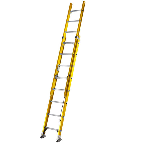 Youngman S200 Fibreglass Trade 2 Section Extension Ladder - 2.45m (52780800)