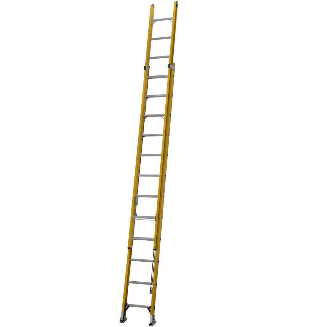 Youngman S200 Fibreglass Trade 2 Section Extension Ladder - 3.61m (52781200)