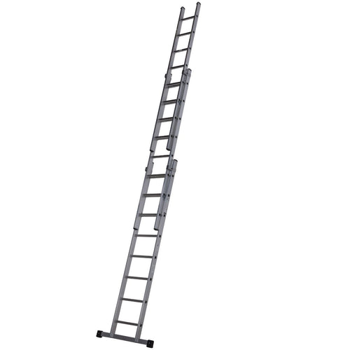 Werner Square Rung Extension Ladder 2.5m Triple (57712118)
