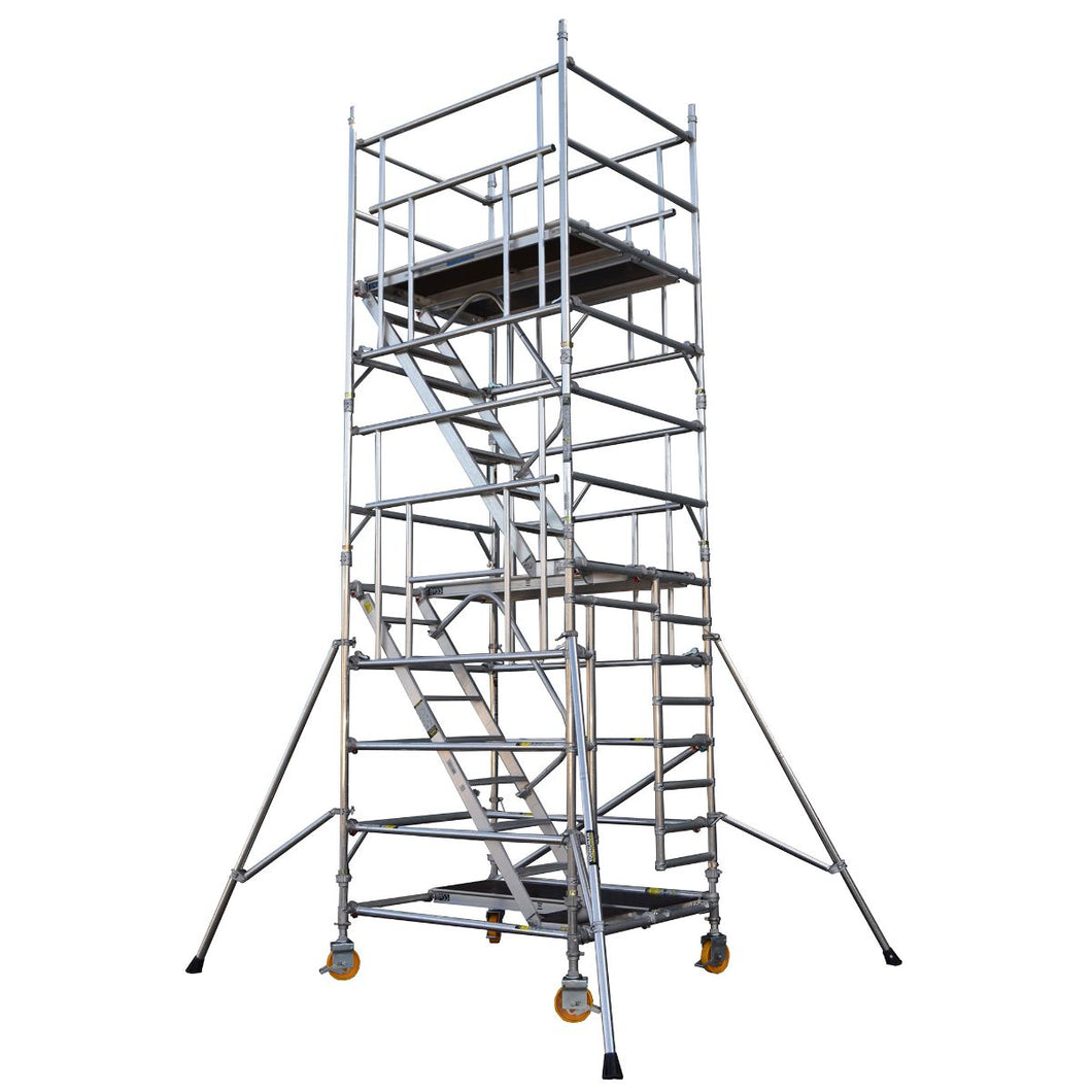 BoSS Staircase Tower 1.45m x 2.5m Working Height 14.4m (62312400)