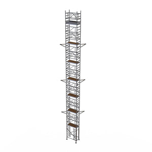 BoSS Liftshaft 700 Guardrail Tower - Working Height 20.2m (67113182)