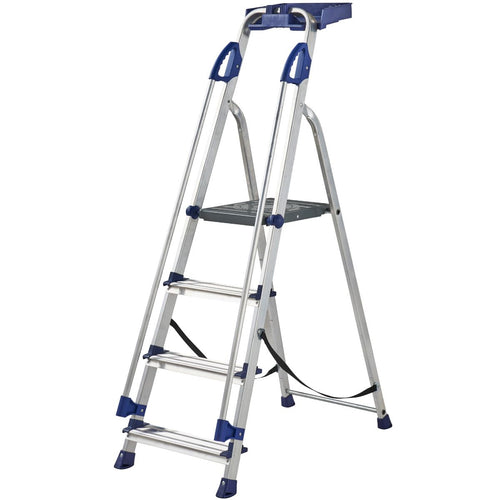 Werner Stepladder 4 Tread Workstation (7050418)