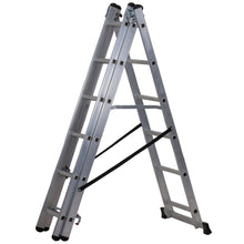 Load image into Gallery viewer, Werner Combination Ladder 4 in 1 (7101418)
