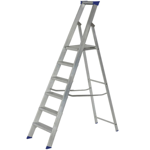 Werner Platform Stepladder 6 Tread MasterTrade™ (7150618)