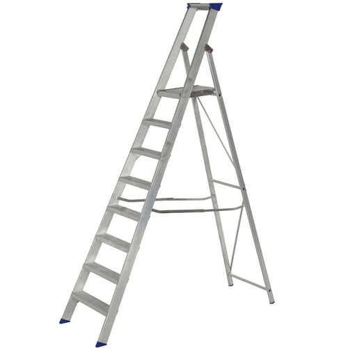 Werner Platform Stepladder 8 Tread MasterTrade™ (7150818)