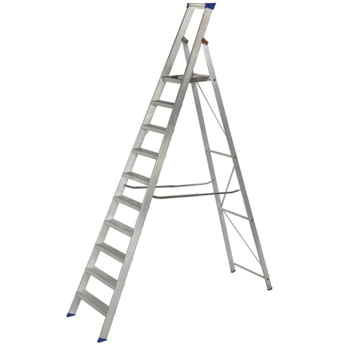 Werner Platform Stepladder 10 Tread MasterTrade™ (7151018)