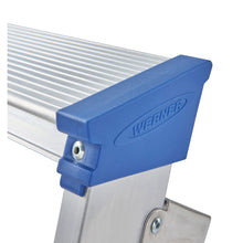 Load image into Gallery viewer, Werner Platform Stepladder 8 Tread MasterTrade (7150818)
