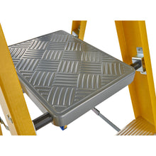 Load image into Gallery viewer, Werner Fibreglass Platform Stepladder 10 Tread (7171018)